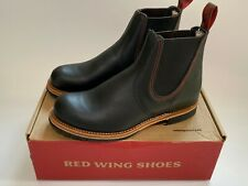 Red Wing 2918 Chelsea Boots, Men's, Black Star Leather, 7 UK 41 EU, New & Boxed