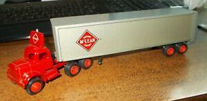 McLean Trucking Co '78 single stack Winross Truck
