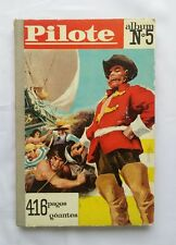 Recueil journal Pilote 5 Asterix de 53 à 65 + Pilotoramas /1961 EO ALBUM BD