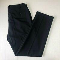 Ralph Lauren Navy Blue 100% Wool Dress Pants 38x34