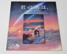 Your name. Kimi no na wa Led IC card Offical limited goods Not For Sale