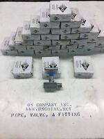 "KF Industries Needle Valve 1/2"" NPT 6000 Psi Steel"