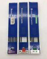 Lot Of Vintage Staedtler Drawing Leads Pencils 2H K1 And Mars Non-Print D1
