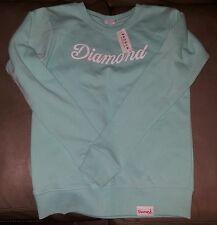 Diamond Supply Co Crewneck Sweatshirt in DMND Tiffany  Blue