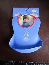 Original Baby Bjorn Soft Bib Babybjorn Blue Red 4+ months easy to clean