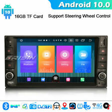 Android 10 DAB + Auto estéreo Sat Nav para Toyota Corolla ex RAV4 Vios Hilux CarPlay