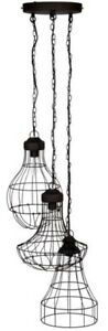 Pacific Lighting Industrial Wire Cluster Electrified Pendant - BNIB