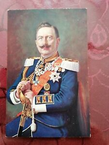 AK Kaiser Wilhelm II. ungelaufen um 1915