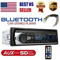 1 DIN Car Radio Stereo Bluetooth Hand free Mp3 Player USB TF AUX-IN FM In-Dash
