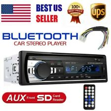 1 DIN Car Radio Stereo Bluetooth Hand free Mp3 Player USB SD AUX-IN FM In-Dash