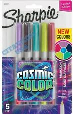 NEW! SHARPIE COSMIC COLOR ULTRA FINE POINT LIMITED EDITION PERMANENT MARKER.