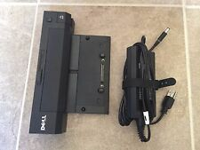 Genuine Dell Docking E-Port Plus PR02X CY640 Replicator with 130W Power adapter