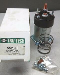 SMP Standard Solenoid Switch - SS200T