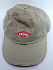Dow Chemical Baseball Cap Hat Tan Taupe Buckle Free Shipping