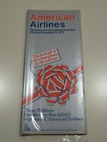 American Airlines Timetable  December 13, 1979 =
