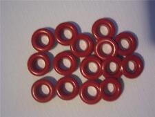 """3/16"""" Large Eyelets RED pk of 50 round scrapbooking craft eyelet card making"""