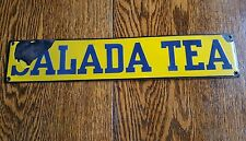 vintage advertising tea salada sign display