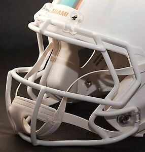 MIAMI DOLPHINS NFL Riddell Speed Football Helmet Facemask (Odell Beckham Jr.)