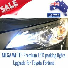 NEW MEGA White Premium LED Parking Light Bulb Globes Upgrade for Toyota Fortuner