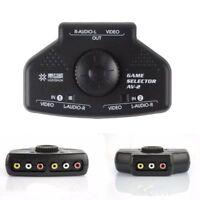 Shop-2 Way Video Selector Box 3RCA Cable For XBox RCA Splitter