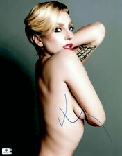 Lady Gaga Signed Autographed 11X14 Photo Sexy Gorgeous Side View GV746025