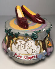 "Ruby Slippers ""Over the Rainbow"" Music Box Wizard of Oz San Francisco Music Co"
