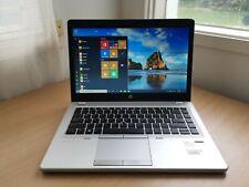 """HP EliteBook Folio 9470m 14"""" Ultrabook i7-3667U 8GB 240GB SSD Win10P Backlight"""