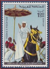 1969 MAROC N°596**  Sommet Islamique, Cheval, 1969 MOROCCO Horse MNH