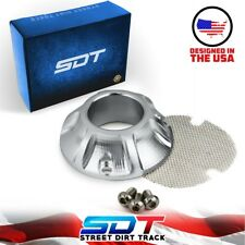 Exhaust Power Tip w/ Spark Arrestor Screen For Honda CRF 50 70 80 100 110 Models