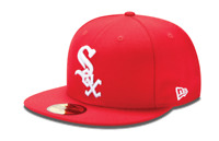 New Era 59Fifty Chicago White Sox Fitted Scarlet/White - 8