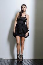 BNWT NICOLA FINETTI  BLACK  DRESS SIZE 6