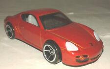 porsche cayman S rouge hotwheels 1/64 neuve new Hot Wheels course rally