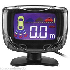 PZ500 LCD Car Parking Sensor Backup Reverse Rear View Radar Alert Alarm System