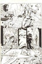 Avengers Next #5 p.6 - Iron Man Mark 1 - 2007 Signed art by Ron Lim Comic Art
