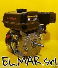 Loncin G200 Motore benzina 4 tempi HP 6,5 albero conico 19,84 LUNGO x generatori