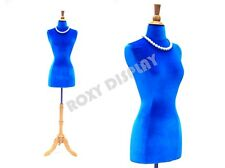 Female Size 2-4 Jersey Form Mannequin Dress Form #Jf-F2/4W-Blue+ Bs-01Nx