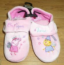Marks and Spencer Peppa Pig Zapatillas-Talla 12-Nuevo