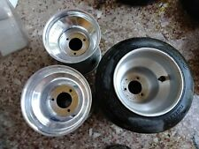 Racing kart rims and tires