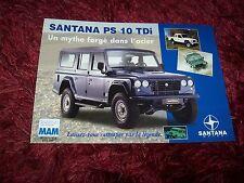 Prospectus  / Brochure SANTANA PS10 Tdi  2006 / 2007 //