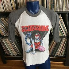 Vintage SCORPIONS Band U.S. Concert Tour 1984 Love at First Sting T-shirt Large