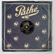 78T BOURVIL Disque Phonographe QUAND MEME -HOUPETTA BELLA Chanté PATHE 2342 RARE