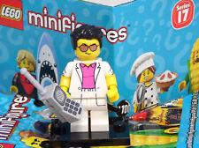 Lego 71018 Minifiguren Serie 17, Geschäftsmann Telefon Yuppie Phone #12 NEU