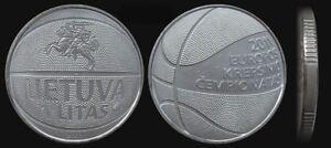"""Lithuania 1 litas 2011 """"Basketball"""" UNC"""