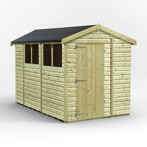 10 x 6 Wooden Shed, Tongue And Groove Roof and Floor.