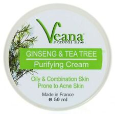 Anti Acne Tea Tree & Ginseng Facial Care All Natural Face Creme Against Acne