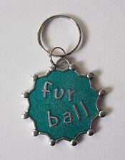 x Fur Ball Engraveable Dog Cat Pet Collar Charm ganz jewelry new kitty