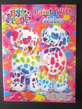 LISA FRANK PAINT WITH WATER All Your Need Is Water To Color Paint Book New!
