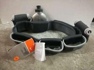 Nike Lightweight Running Hydration Belt 4 Bottles Secure Pocket Adjustable New