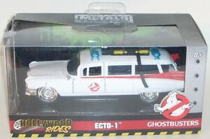 Metals Die Cast ECTO-1 Hollywood Rides NEW Ghostbusters JADA 24078 2019 GM 1/32