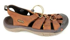 Keen Mens Original Newport WP Watersport Brown Leather Sandals Shoes US 15 EU 48